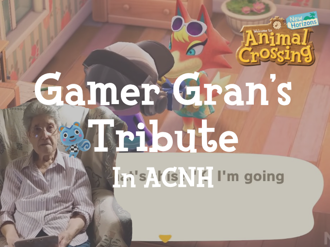87 Year Old Grandma Gets A Tribute In Animal Crossing New Horizons