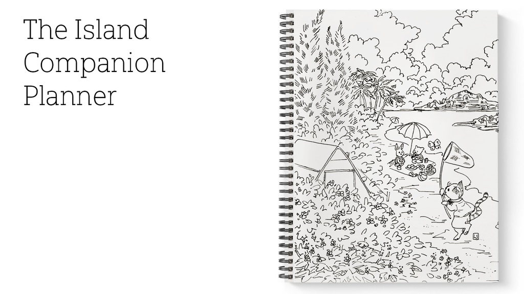 Animal Crossing: New Horizons Companion Planner Cover