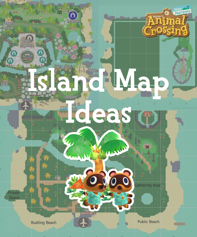 Animal Crossing New Horizons Map Design Ideas