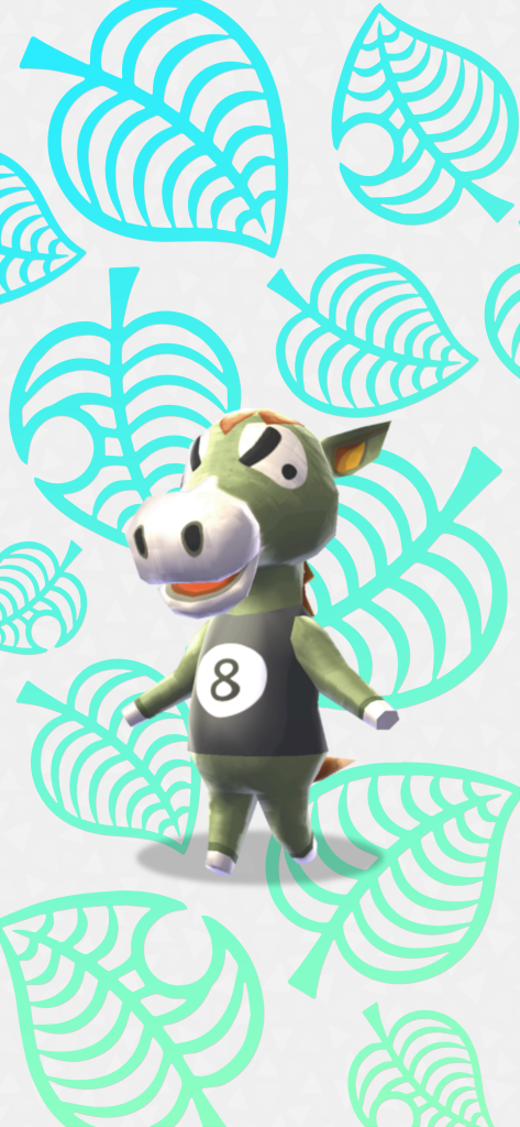 Animal Crossing Villager Buck Wallpaper