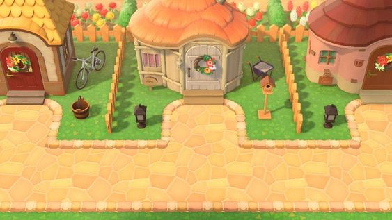 Animal Crossing Villager Homes Layout Ideas - CrossingCharm