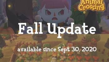 Animal Crossing New Horizons Fall Halloween Update - CrossingCharm.com
