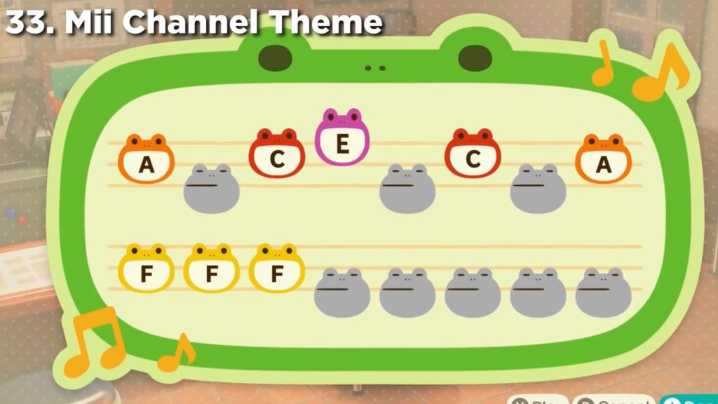 Animal Crossing Island Tunes - Mii channel theme Song